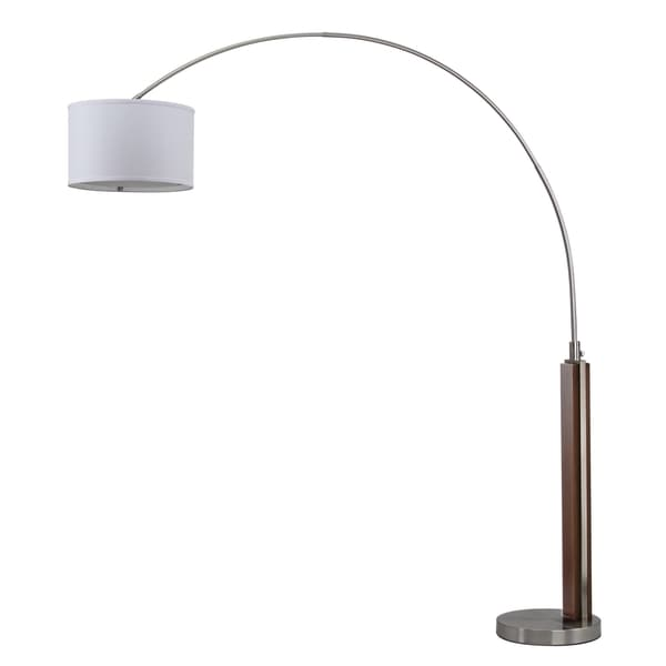 Shop Safavieh Lighting 86 5 Inch Aries Arc Floor Lamp