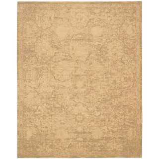 Nourison Silken Allure Sand Rug (8'6 x 11'6)