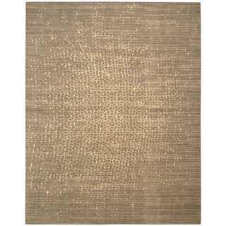 Nourison Silken Allure Mushroom Rug (8'6 x 11'6)