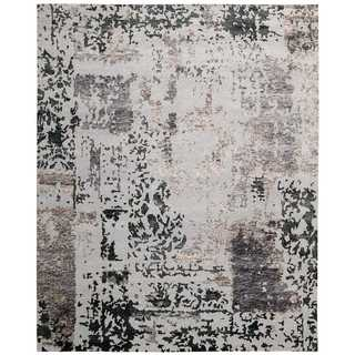 Nourison Silk Shadows Silver/Grey Rug (8'6 x 11'6)