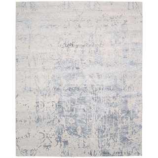 Nourison Silk Shadows Sterling Rug (7'9 x 9'9)