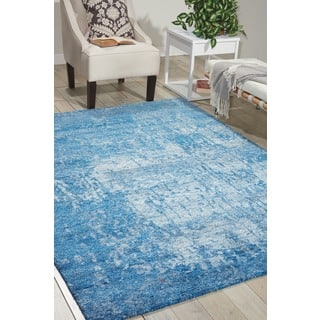 Nourison Silk Shadows Ocean Rug (8'6 x 11'6)|https://ak1.ostkcdn.com/images/products/11824361/P18729676.jpg?impolicy=medium