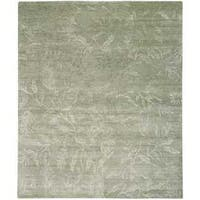 Nourison Silk Shadows Light Green Rug - 7'9 x 9'9