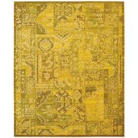 Nourison Silk Infusion Yellow Rug - 8'6 x 11'6