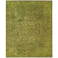 Nourison Silk Infusion Green Rug - 7'9 x 9'9