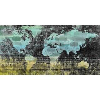 Parvez Taj - Aqua Midnight Print on Canvas