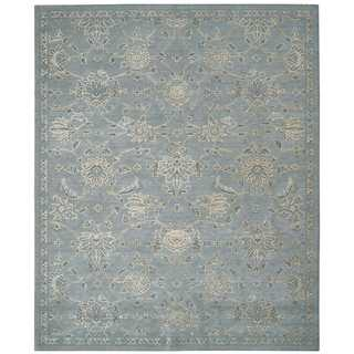 Nourison Silk Infusion Blue Rug (8'6 x 11'6)
