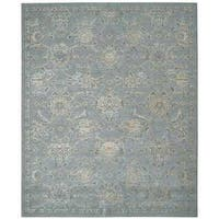 Nourison Silk Infusion Blue Rug - 8'6 x 11'6