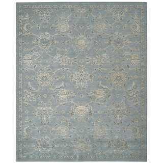 Nourison Silk Infusion Blue Rug (7'9 x 9'9)