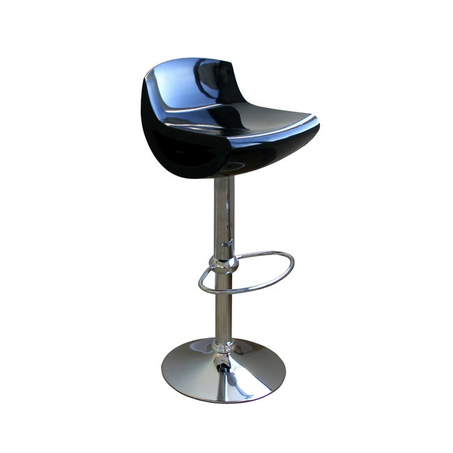 Urban Black Barstools (Set of 2)