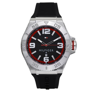 Tommy Hilfiger 1791034 Men's Black Quartz Analog Display Watch