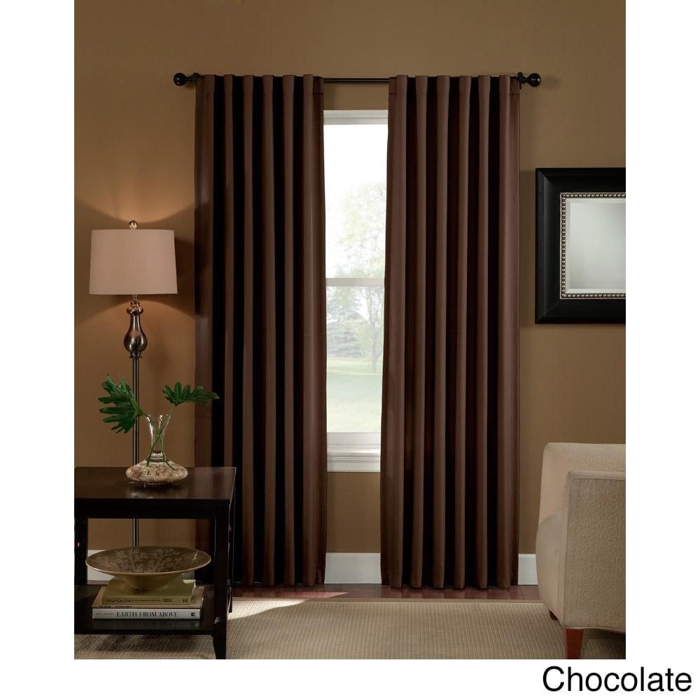 Saville Solid Thermal Room-darkening Curtain Panel (95 In...