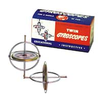 Tedcotoys Original Twin Pack Gyroscope