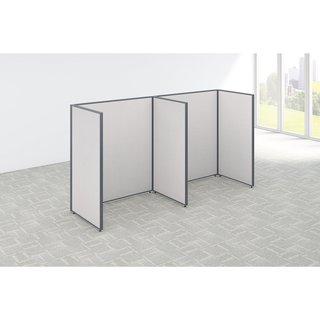 Bush Business Furniture Open-cubicle 2-person ProPanels