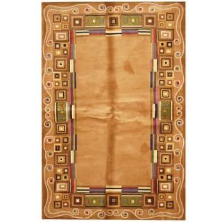 Herat Oriental Indo Hand-tufted Tibetan Wool Rug (5'3 x 8')