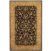 Herat Oriental Indo Hand-tufted Tabriz Wool and Silk Rug - 5'9 x 8'9