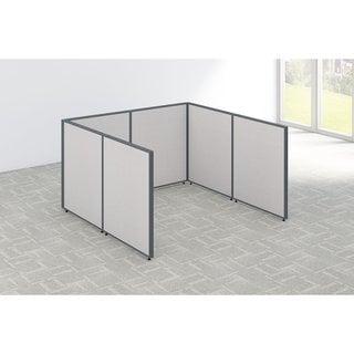 Bush Business Furniture ProPanels Open Cubicle Configuration