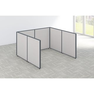 Bush Business Furniture ProPanels Open Cubicle Configuration