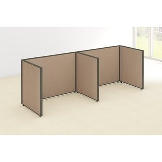 Bush Business Furniture 2-person Open Cubicle Configuration ProPanels (120W x 36D x 42H)