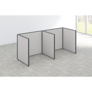 Bush Business Furniture ProPanels 2 Person Open Cubicle Office