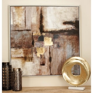 Contemporary Framed Canvas Art