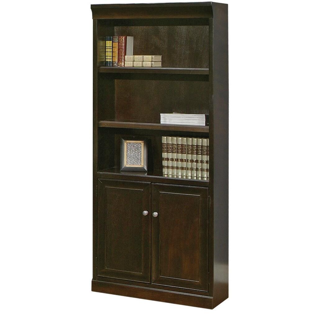 MARTIN Forestville Library Bookcase (Espresso), Brown