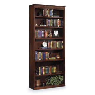 Havington Overbrook 84-inch Hardwood Open Bookcase