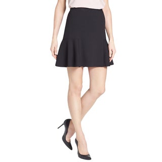 T Tahari Napa Black Mini Skirt