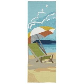 Indoor/Outdoor Beachcomber Shade Multi Rug (2' x 6')