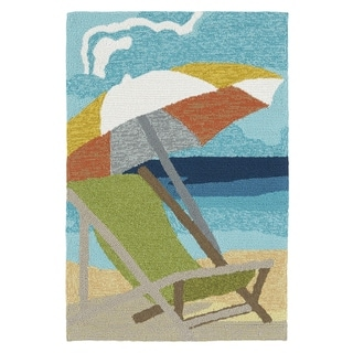 Indoor/Outdoor Beachcomber Shade Multi Rug (2' x 3')