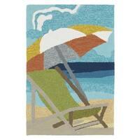 Indoor/Outdoor Beachcomber Shade Multi Rug (2' x 3') - 2' x 3'