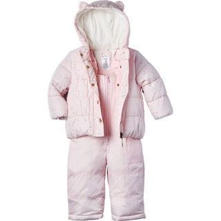 Carter's Infant Girl 2-piece Snowsuit