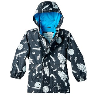 Carter's Toddler Boys' Spaceship Print Rain Slicker