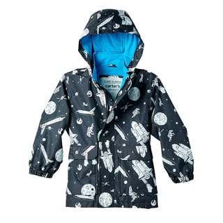 Carter's Boys' Spaceship Print Rain Slicker