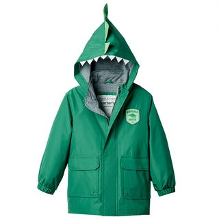 Carter's Toddler's Boy Dino Green Polyester Rain Slicker
