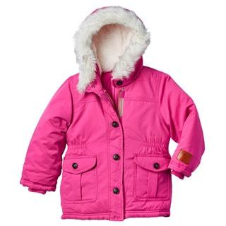 Carter's Toddler Girls' Pink Hooded Parka