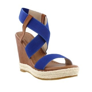 Beston DC26 Espadrille Wedges Sandals