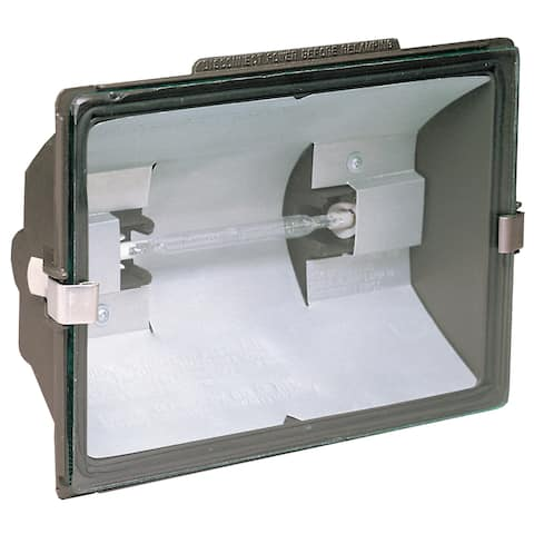 Heathco HZ-5505-BZ 500 Watt Bronze Quartz Halogen Floodlight
