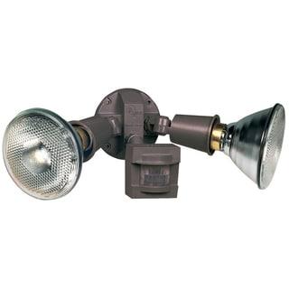 Heathco HZ-5408-BZ Bronze Motion Sensing Security Light Fixture