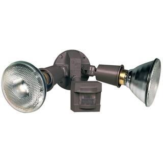Heath Zenith Bronze Plastic Floodlight Motion-Sensing Incandescent 120 volts 300 watts|https://ak1.ostkcdn.com/images/products/11826213/P18731252.jpg?impolicy=medium