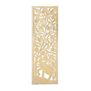 Enticing Wall Panel Golden /Mirror