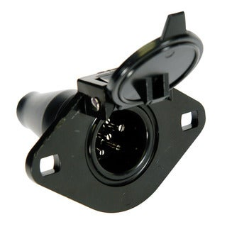 Hopkins Towing 48425 6-Pole Round Car End Socket