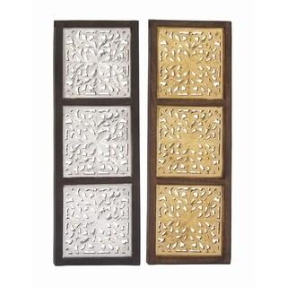 Excellent Wood Mirror Panel 2 Assorted