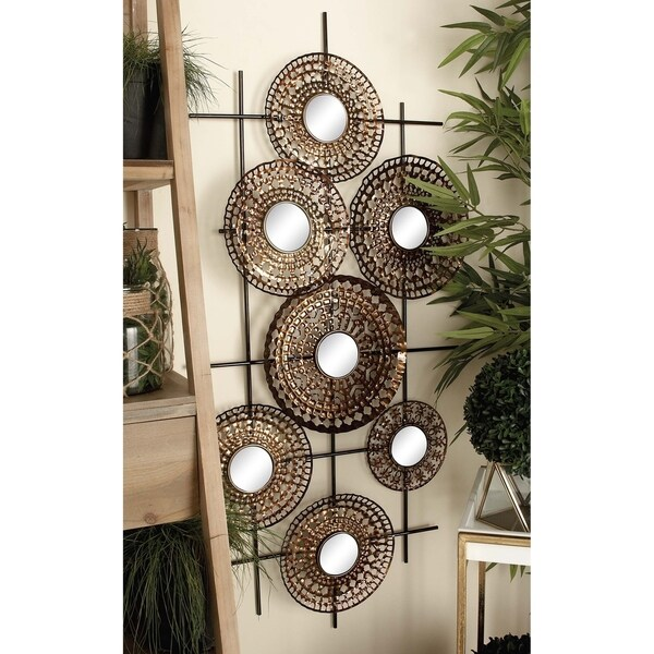 Traditional 25 x 51 Inch Wall Mirror Montage Decor by Studio 350