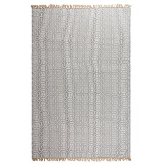 Handmade Fab Habitat Indo Estate Lancut Grey PET Area Rug (India)