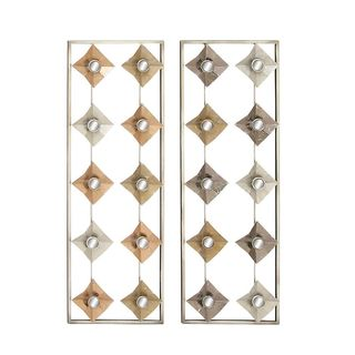 Oliver & James Buri Mirror Wall Panel (Set of 2)