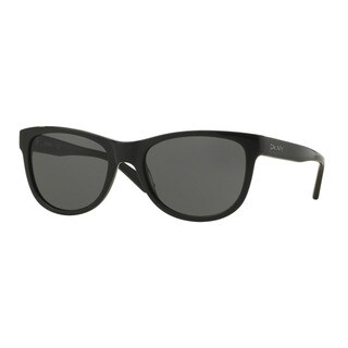 DKNY Men's DY4139 368887 Black Plastic Square Sunglasses