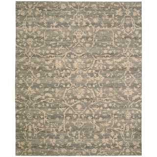Nourison Silk Elements Taupe Rug (8'6 x 11'6)