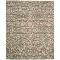 Nourison Silk Elements Taupe Rug (8'6 x 11'6) - 8'6 x 11'6