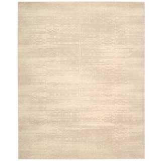 Nourison Silk Elements Bone Rug (8'6 x 11'6)